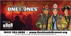 Canned Fire Volunteer Firefighter Recruitment and Retention Campaigns - Road Sign - Youth 2