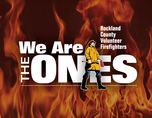 Rockland County Volunteer Firefighters - Logo
