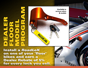RoadLoK Powersports Locking Systems - Printed Materials