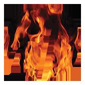 CF Logo KO w-flames