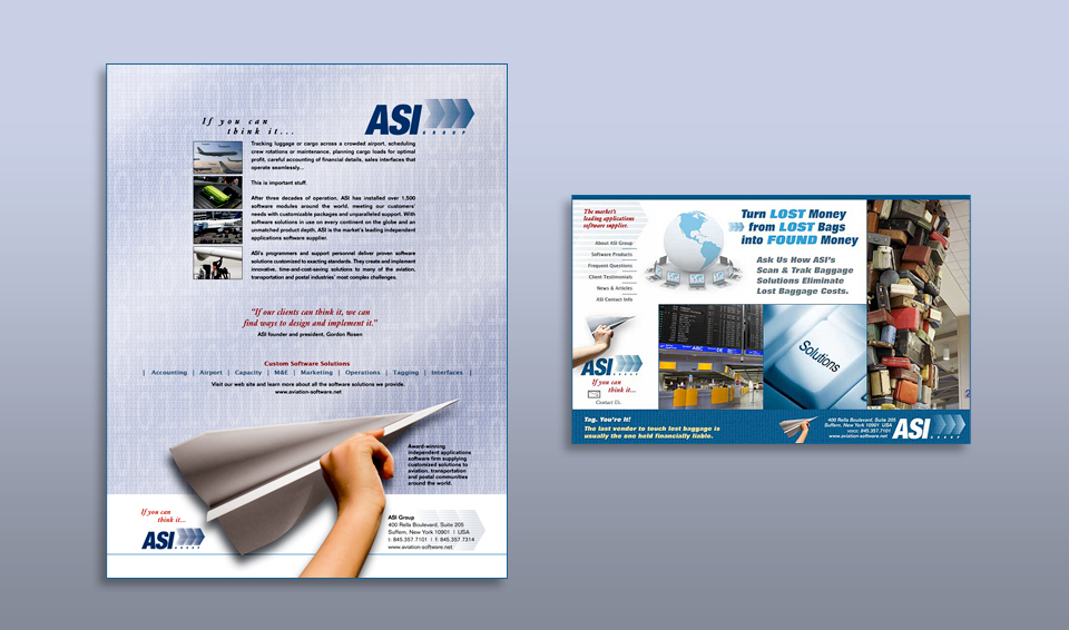 Aviation Software - Advertising