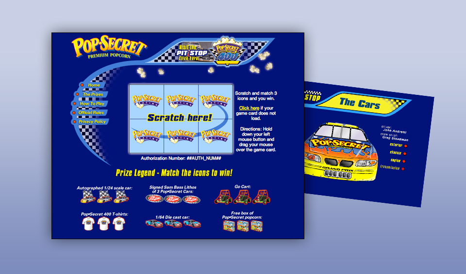 Pop Secret Popcorn - interactive game