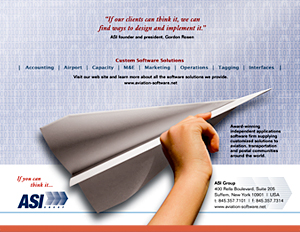 Aviation Software, Inc. - Print Ads