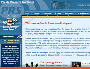 People Resource Solutions - Web Site
