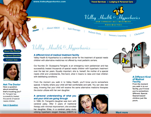 Valley Health & Hyperbarics - Web Site