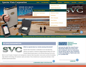 Spectra Vista Web Site